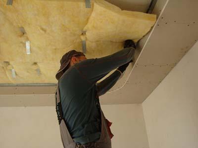 Звукоизоляция натяжных потолков