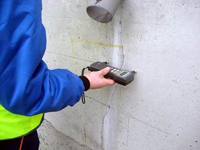 Проверка бетона на прочность ультразвуковым прибором