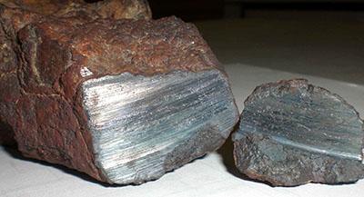 Железный слиток накануне обработки