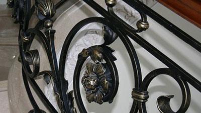 Византийский стиль перил